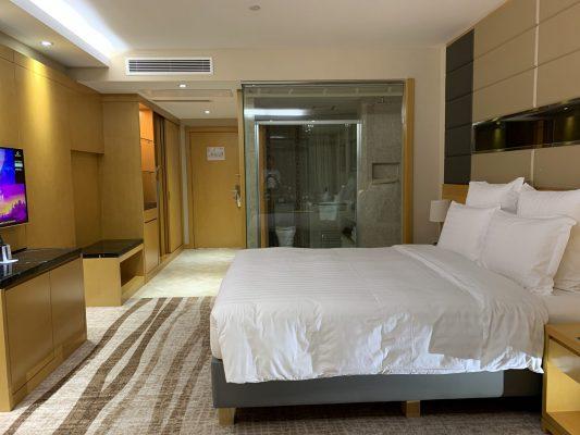 モンゴルでは高級ホテルが1万円程度で宿泊可
