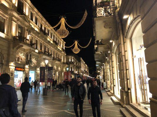 アゼルバイジャンの街並み