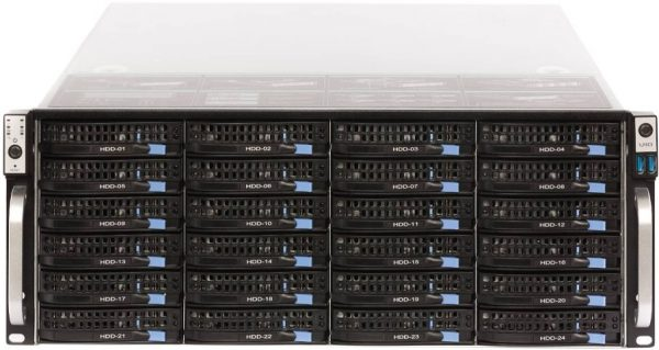 Filecoinのマイニングサーバーの一例
