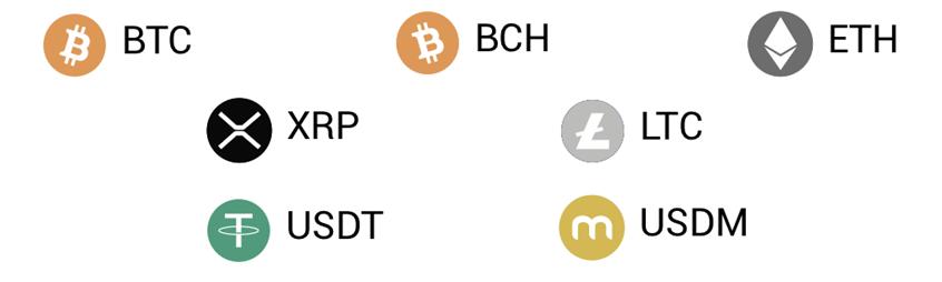 Hcardに対応した仮想通貨