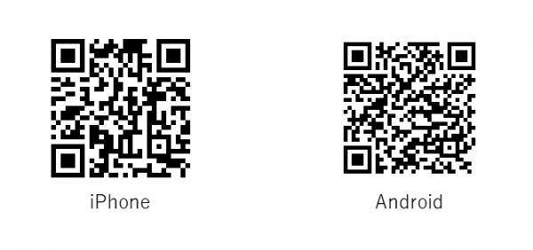 IMO WalletのダウンロードQRコード