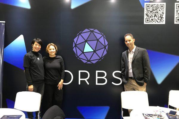 Orbsの展示ブース