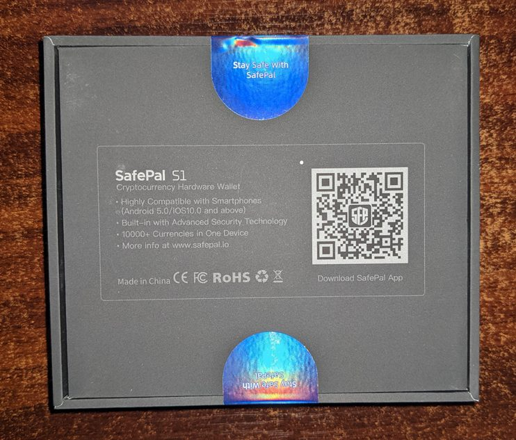 SafePal S1外観底