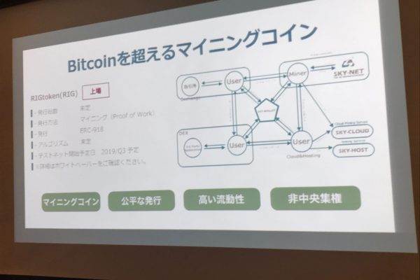 RIGcoinのスペック